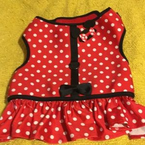 Minnie dog harness